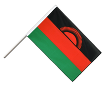 Malawi Hand Waver Flag ECO - 2x3 ft