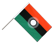 Malawi new Hand Waver Flag ECO - 2x3 ft