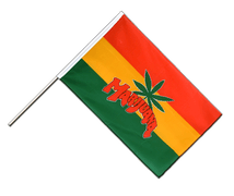Marijuana - Hand Waving Flag ECO 2x3 ft