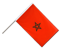 Morocco - Hand Waving Flag ECO 2x3 ft