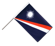 Marshall Islands - Hand Waving Flag ECO 2x3 ft