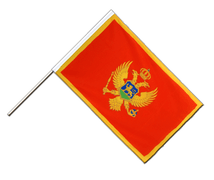 Montenegro - Hand Waving Flag ECO 2x3 ft