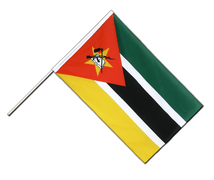 Mozambique Hand Waver Flag ECO - 2x3 ft