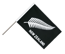 Drapeau Nouvelle-Zélande Plume All Blacks Hampe ECO - 60 x 90 cm