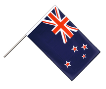 New Zealand Hand Waver Flag ECO - 2x3 ft