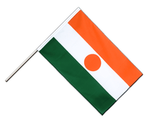 Niger Hand Waver Flag ECO - 2x3 ft