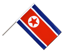 North corea Hand Waver Flag ECO - 2x3 ft