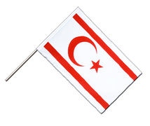 North Cyprus - Hand Waving Flag ECO 2x3 ft