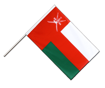 Oman - Hand Waving Flag ECO 2x3 ft