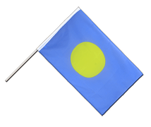Palau Hand Waver Flag ECO - 2x3 ft