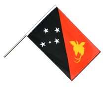Hand Waving Flag ECO Papua New Guinea - 2x3 ft