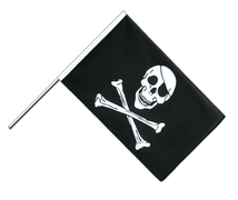 Drapeau Pirate Hampe ECO - 60 x 90 cm