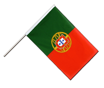 Drapeau Portugal Hampe ECO - 60 x 90 cm