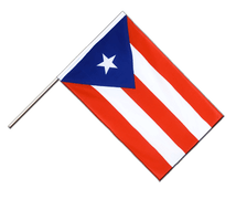 Puerto Rico - Hand Waving Flag ECO 2x3 ft