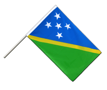 Solomon Islands Hand Waver Flag ECO - 2x3 ft