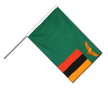 Zambia - Hand Waving Flag ECO 2x3 ft
