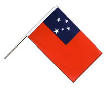Samoa Hand Waver Flag ECO - 2x3 ft