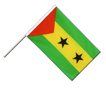 Sao Tome and Principe - Hand Waving Flag ECO 2x3 ft
