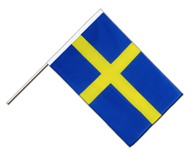 Sweden - Hand Waving Flag ECO 2x3 ft