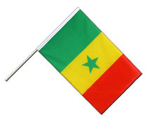Senegal - Hand Waving Flag ECO 2x3 ft