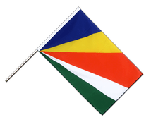 Seychelles - Hand Waving Flag ECO 2x3 ft