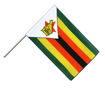 Zimbabwe - Hand Waving Flag ECO 2x3 ft