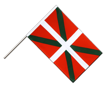 Basque country - Hand Waving Flag ECO 2x3 ft