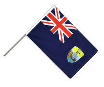 Saint Helena - Hand Waving Flag ECO 2x3 ft