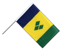 Saint Vincent and the Grenadines - Hand Waving Flag ECO 2x3 ft