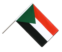 Sudan Hand Waver Flag ECO - 2x3 ft