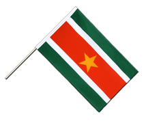Suriname - Hand Waving Flag ECO 2x3 ft