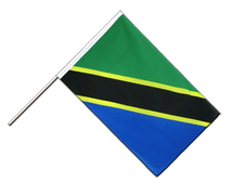 Tanzania Hand Waver Flag ECO - 2x3 ft