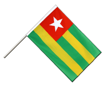 Togo - Hand Waving Flag ECO 2x3 ft