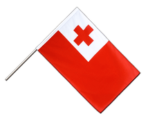 Tonga - Hand Waving Flag ECO 2x3 ft