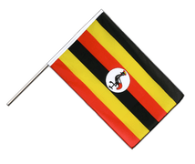 Uganda Hand Waver Flag ECO - 2x3 ft