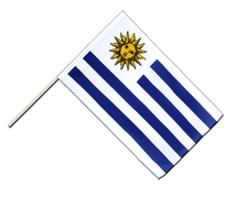 Uruguay - Hand Waving Flag ECO 2x3 ft
