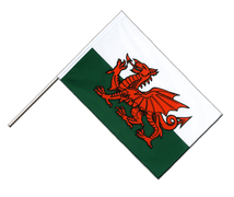 Wales - Hand Waving Flag ECO 2x3 ft