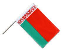 Belarus - Hand Waving Flag ECO 2x3 ft