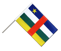 Central African Republic - Hand Waving Flag ECO 2x3 ft