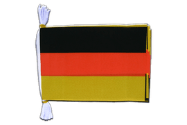 "Germany - Mini Flag Bunting 6x9"", 3 m"