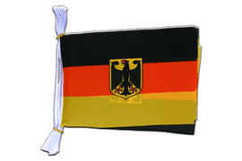 "Germany Dienstflagge Mini Bunting Flags - 6x9"", 3 m"
