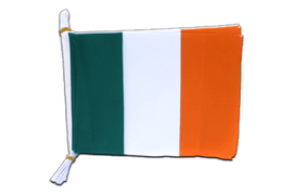 "Ireland Mini Bunting Flags - 6x9"", 3 m"