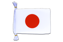 "Japan Mini Bunting Flags - 6x9"", 3 m"