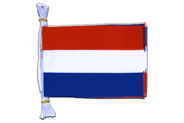 "Netherlands - Mini Flag Bunting 6x9"", 3 m"