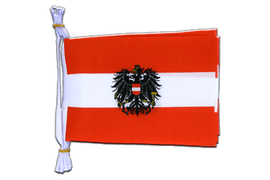 "Austria eagle - Mini Flag Bunting 6x9"", 3 m"