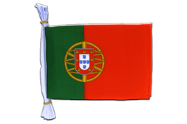 "Portugal - Mini Flag Bunting 6x9"", 3 m"