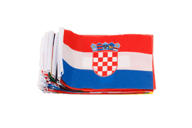Kit 24 fanions Euro Foot 2016 - 10 x 15 cm