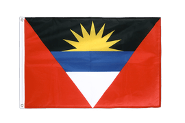 Antigua and Barbuda - Grommet Flag PRO 2x3 ft