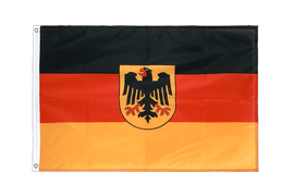 Germany Dienstflagge - Grommet Flag PRO 2x3 ft