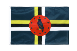 Dominica - Grommet Flag PRO 2x3 ft